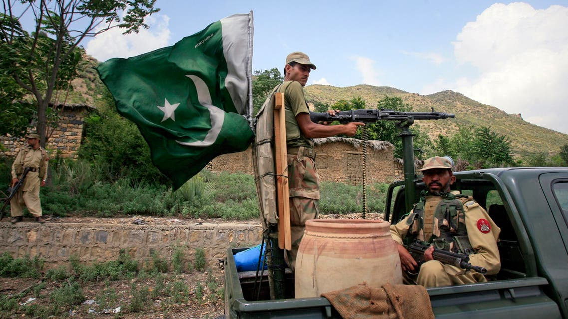 oldiers patrol Tora Warai, a town in Kurram Agency, on the border with Afghanistan. (File photo: Reuters)