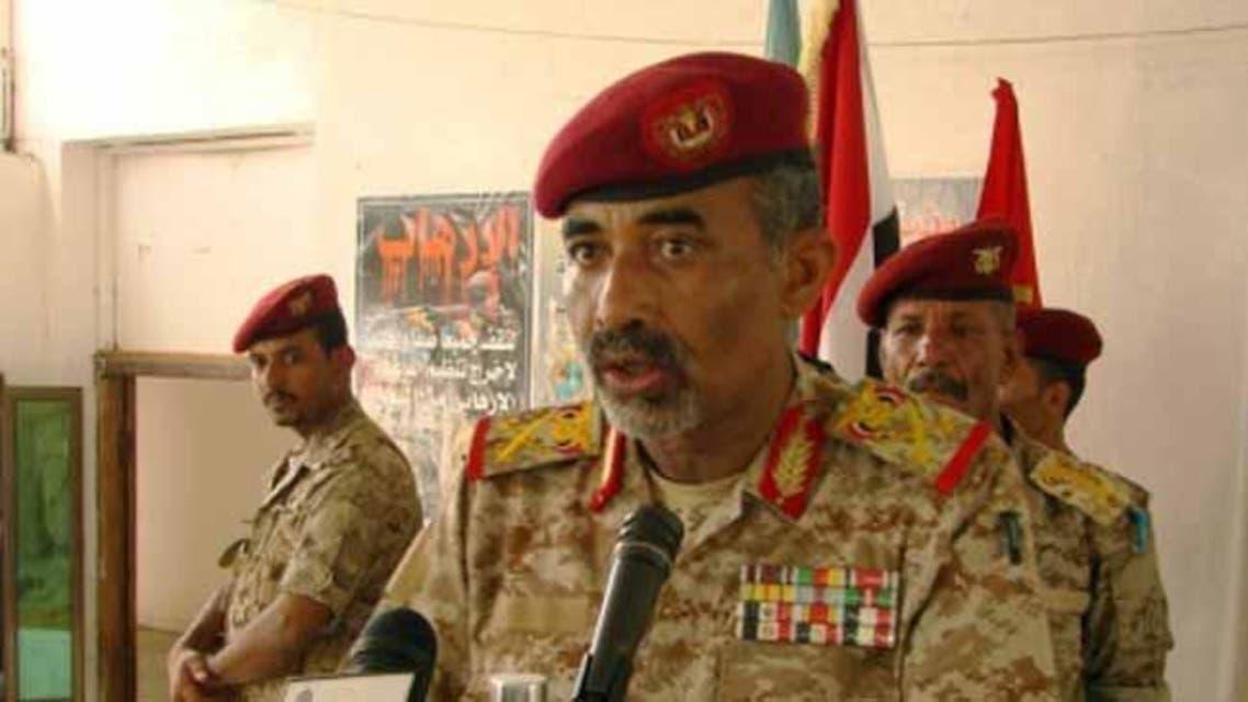 وزير الدفاع اليمني اللواء محمود الصبيحي