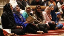Why did a Washington cathedral offer Islamic Friday prayers?