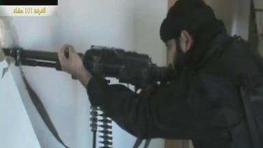 مشاة اللواء التاسع للتصدي لقوات الأسد في حلب