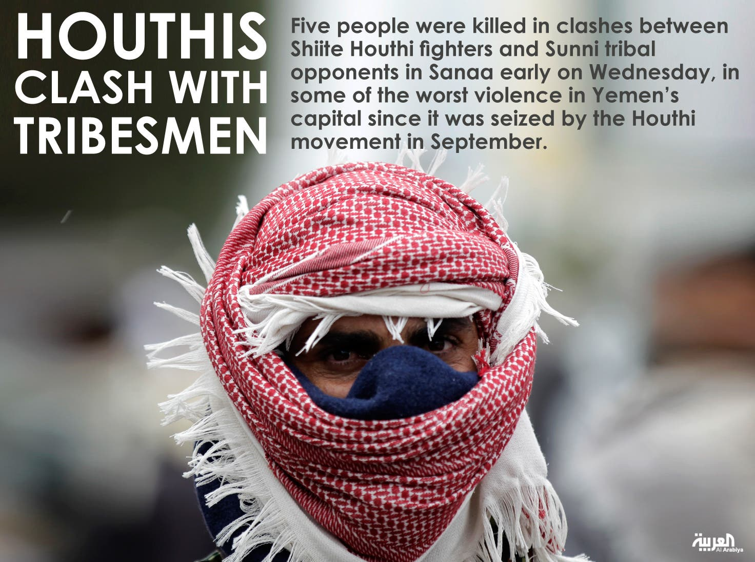 Houthis clash with tribesmen
