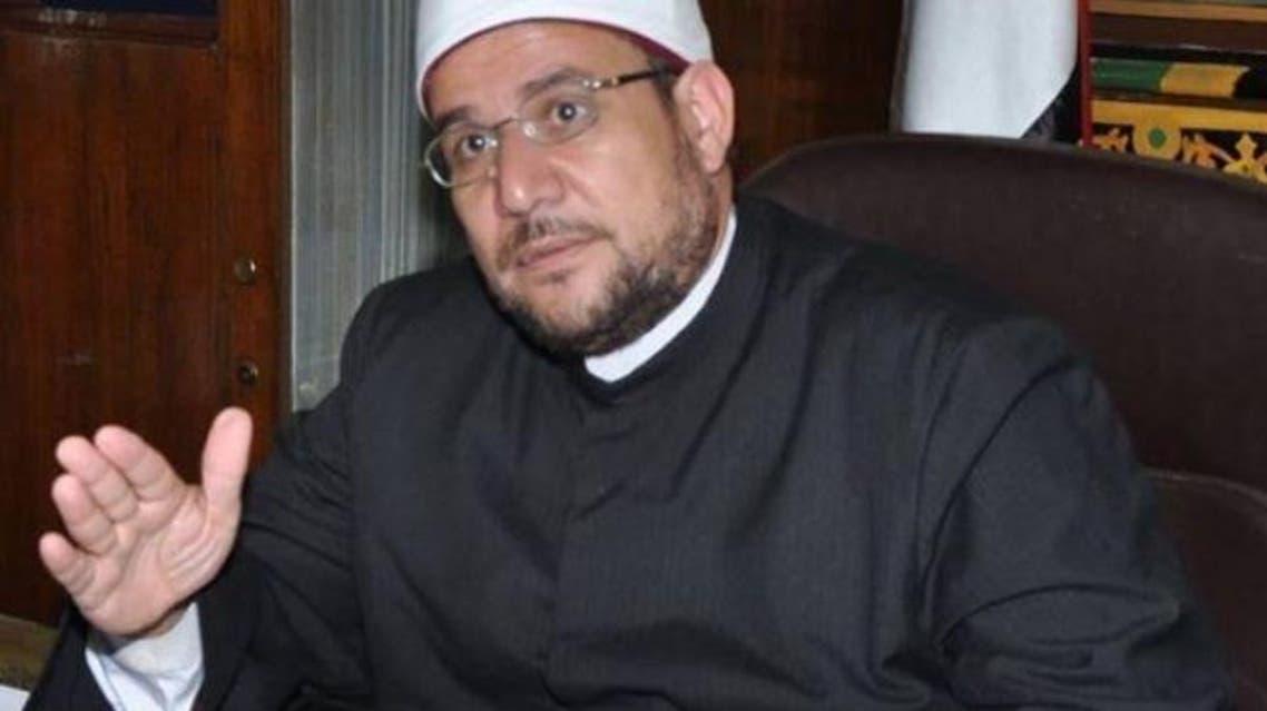 الدكتور محمد مختار جمعة وزير الأوقاف المصري في مصر