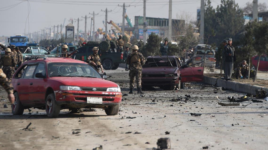 Kabul British embassy AFP