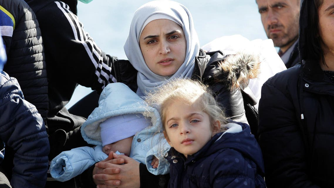 Syrian immigrants AFP