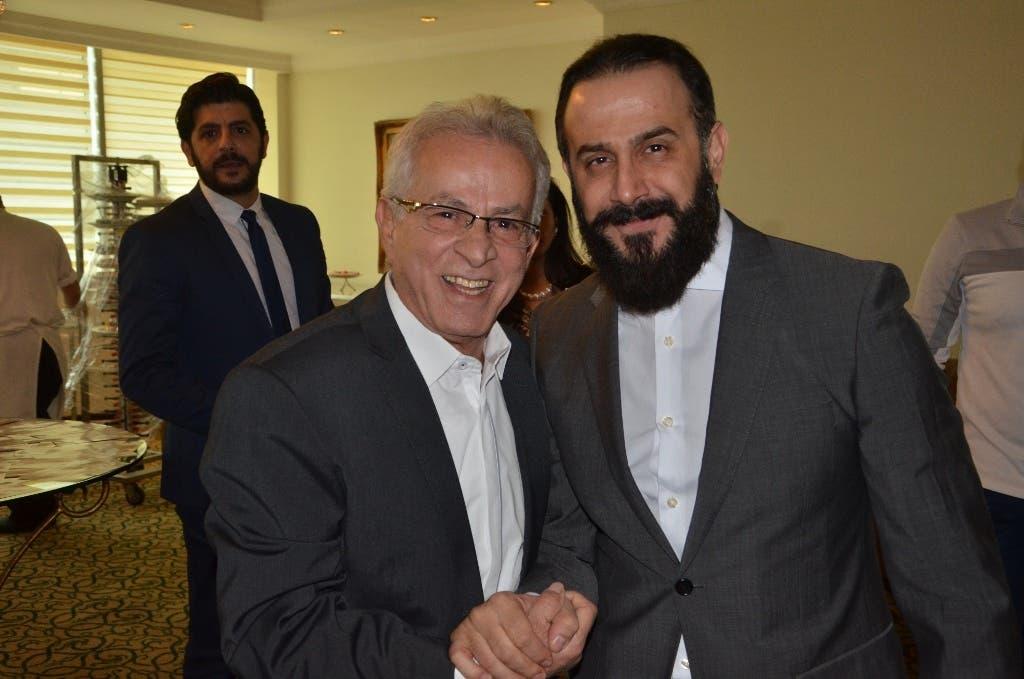 النجمان أحمد الزين وقصيّ خولي