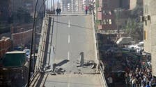 Official says 700 bridges in Egypt at risk of collapsing