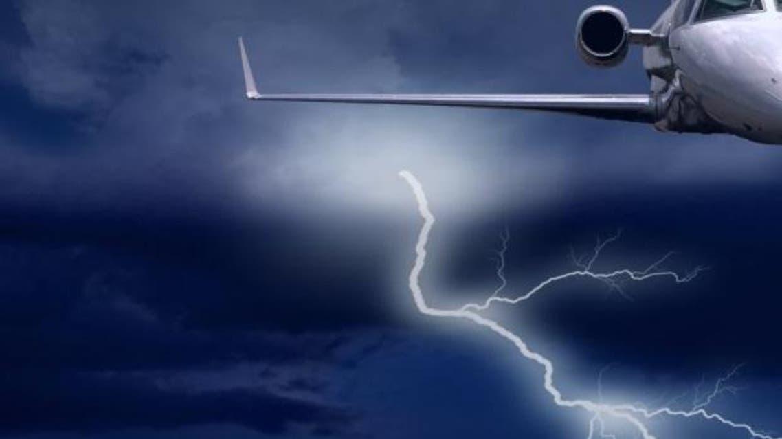 صاعقة صواعق طائرة