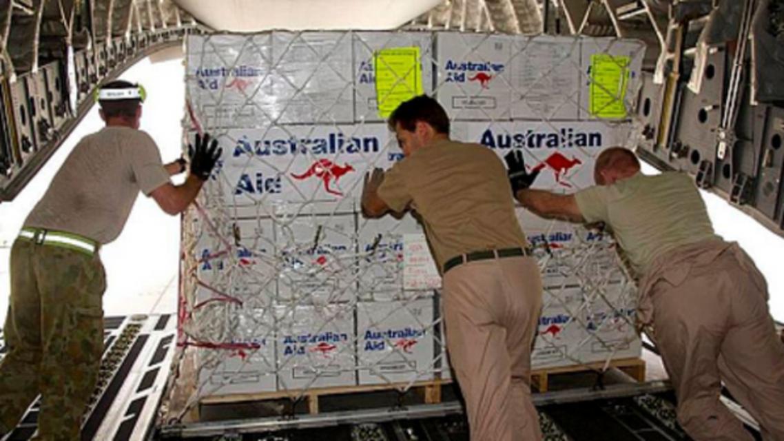 آسٹریلوی امداد