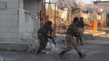 """المعارك الأولى عند معبر كوباني بين الأكراد و""""داعش"""""""