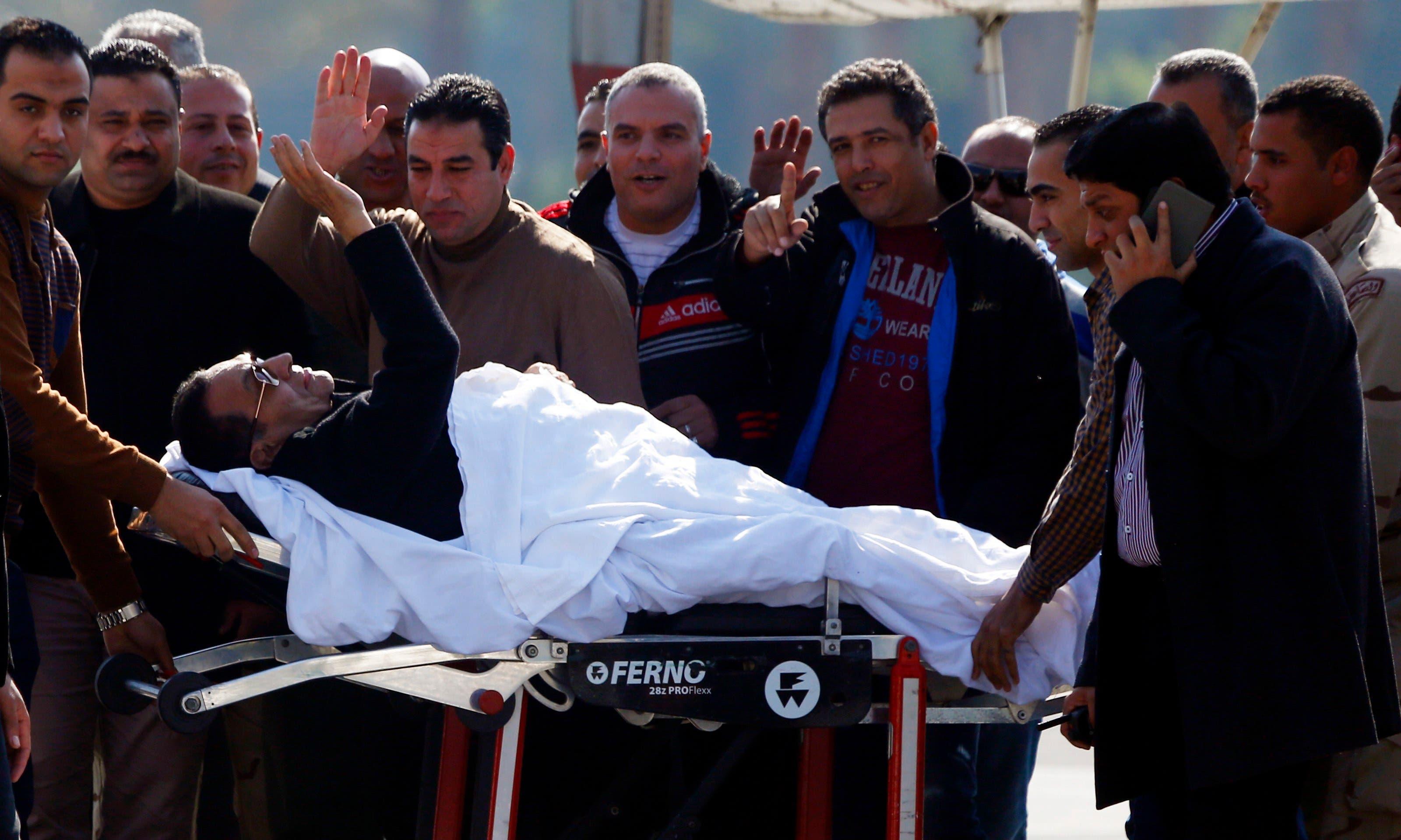 مبارك بعد المحاكمة