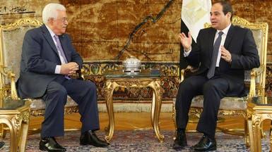 السيسي يلتقي عباس ويطمئنه على الإجراءات المتخذة برفح