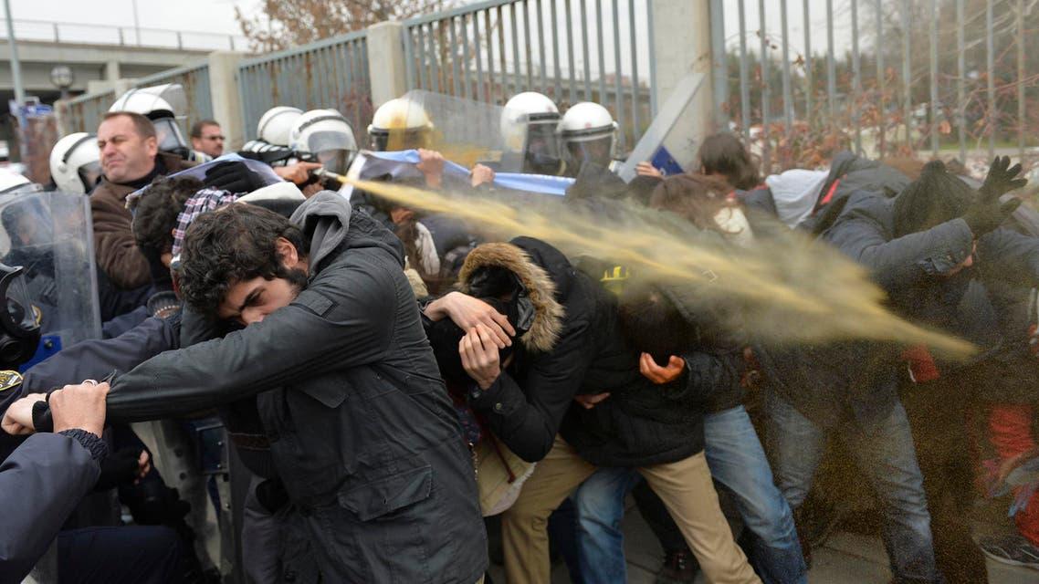مظاهرات في تركيا أمام قصر أردوغان