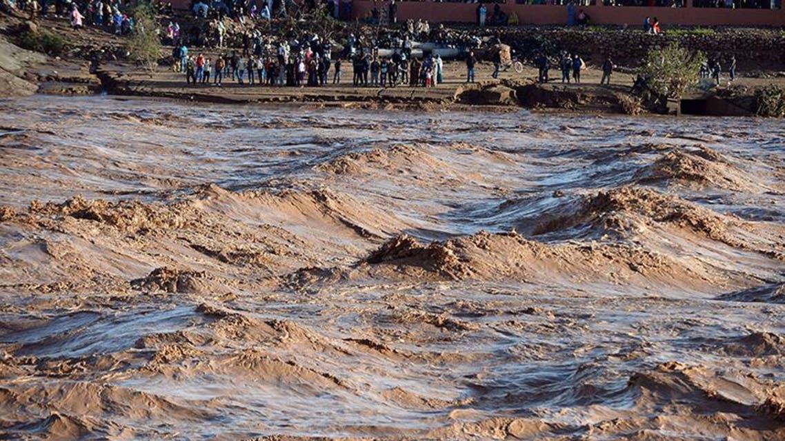 فيضانات و سيول في المغرب