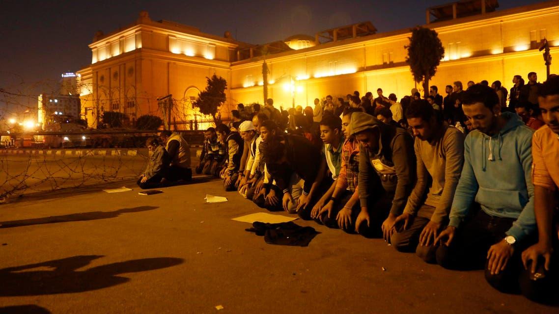 Anti-Mubarak protests in Cairo