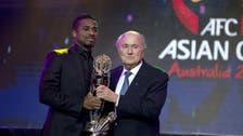 Saudi striker Nasser al-Shamrani named AFC player of the year