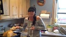 Girl freaks out over Thanksgiving Turkey pregnancy prank