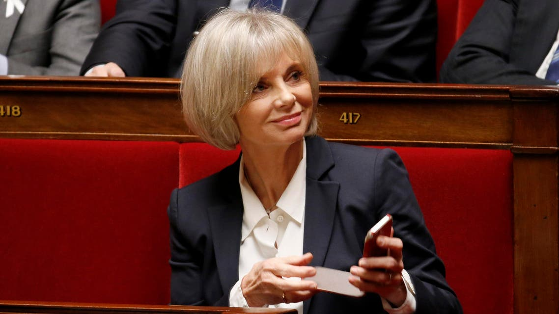 French Socialist party deputy Elisabeth Guigou attends a debate on Palestine status at the National Assembly in Paris Nov. 28, 2014. (Reuters)