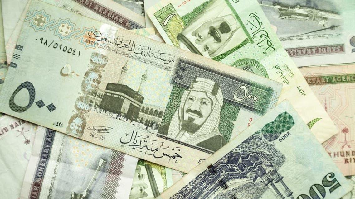 Saudi currency shutterstock