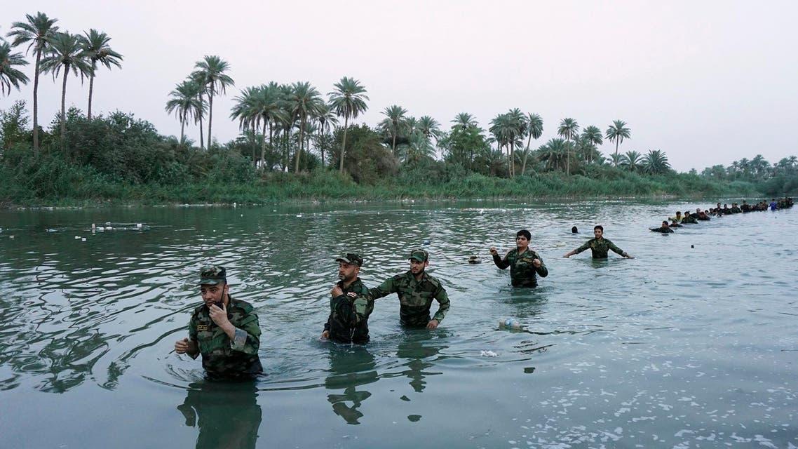 جنود عراقيون يقاتلون داعش العراق جنود