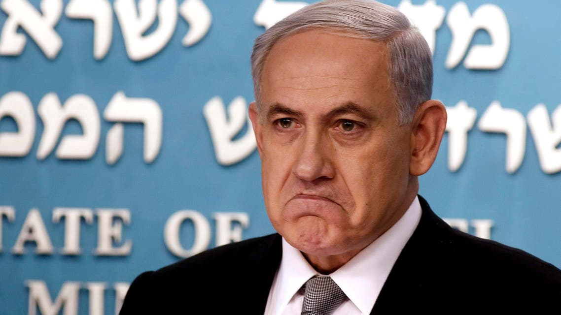 Israel's Prime Minister Benjamin Netanyahu is pictured during a news conference at his office in Jerusalem December 2, 2014. (Reuters)