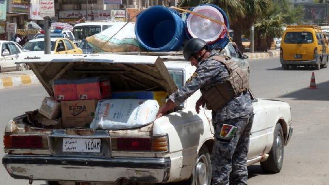 iraqi policeman AFP