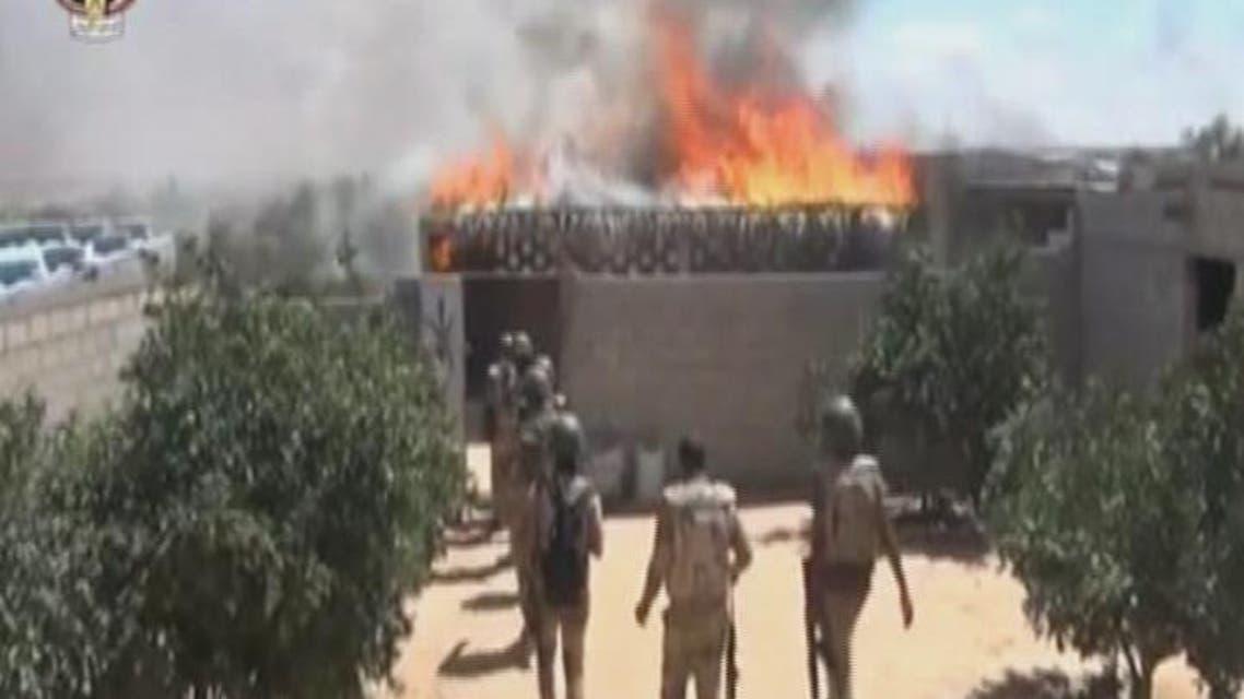 THUMBNAIL_ قوات الأمن تواصل حملتها ضد المتطرفين في سيناء