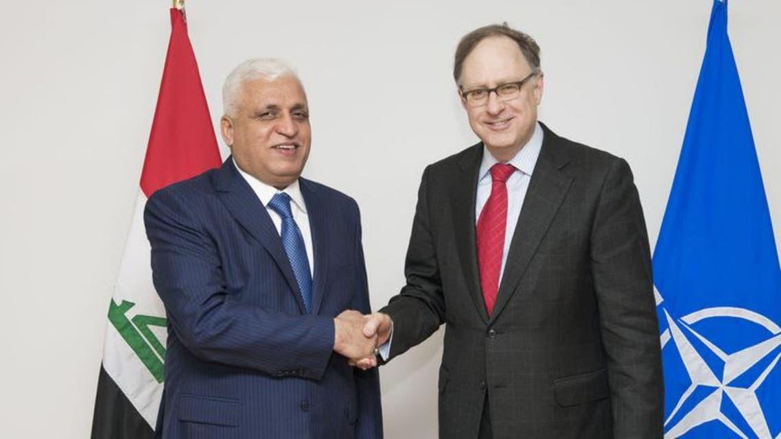 NATO Deputy Secretary Genera Alexander Vershbow meets with Iraqi National Security Advisor Faleh al-Fayyad. (Photo courtesy: www.nato.int)