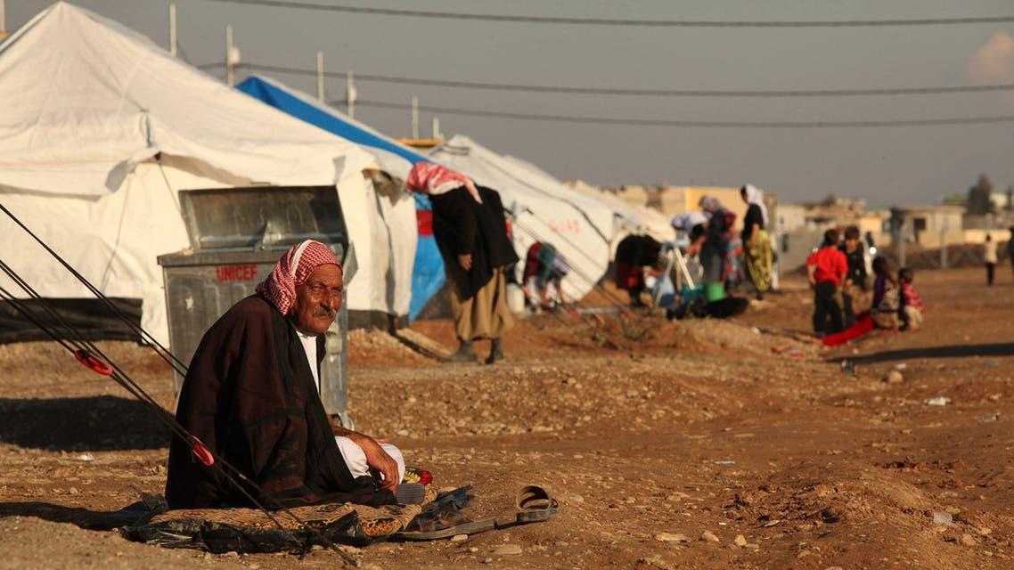Iraqi refugees reuters