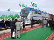 تدشین خط قطار بین إیران وترکمانستان وکازاخستان