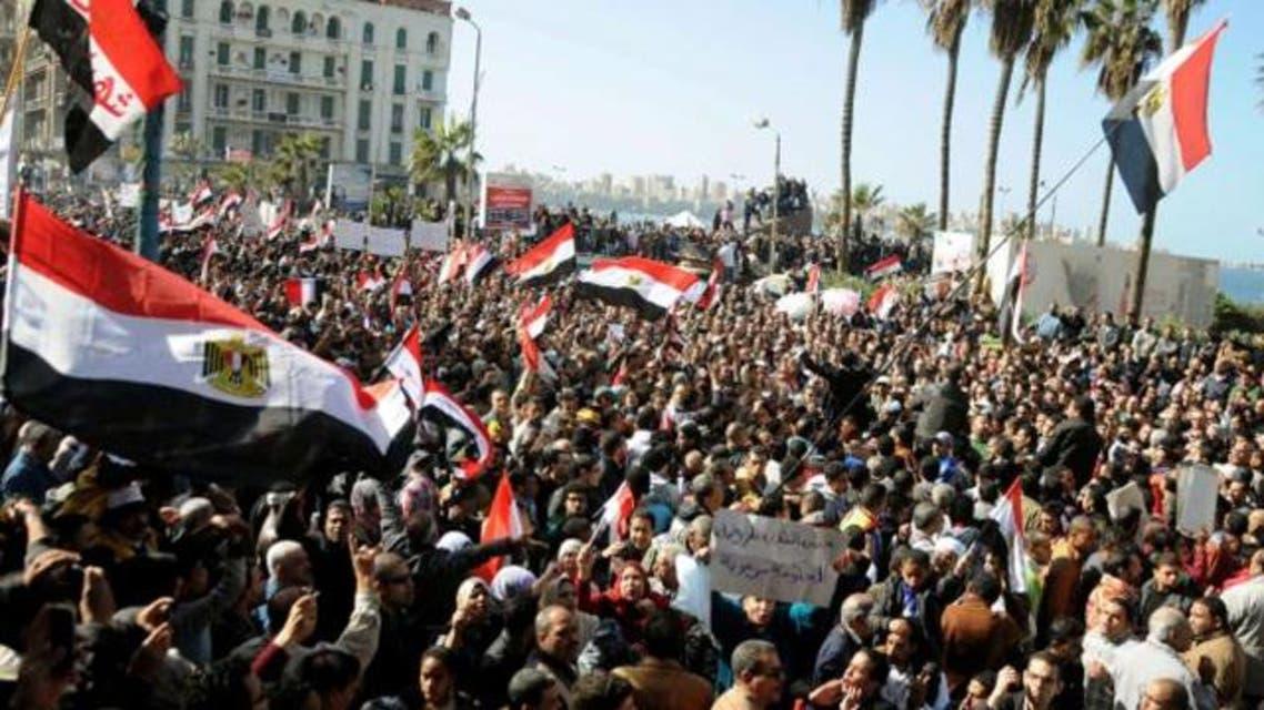 Egypt revolution AFP