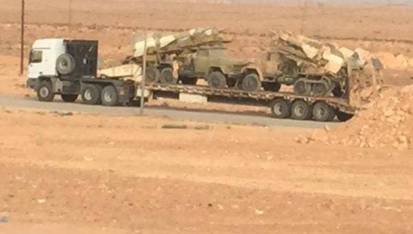 نقل منصات صواريخ درع ليبيا