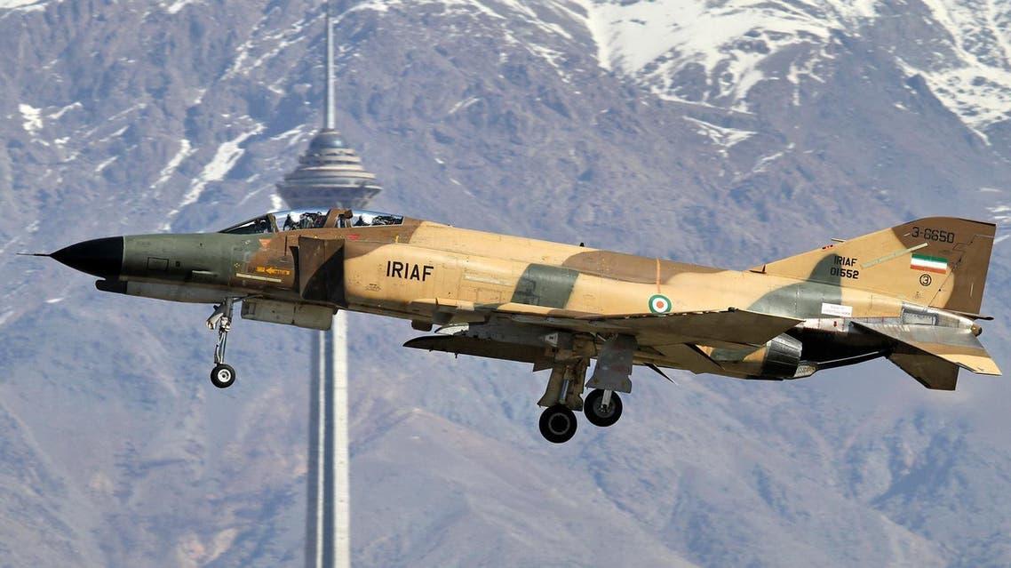 Iranian plane F-4 Phatom. (http://theaviationist.com)