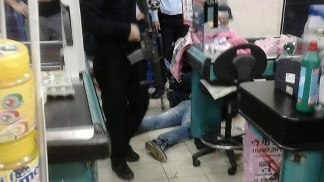 The scene of the attack in Mishor Adumim settlement, east of Jerusalem. (Photo courtesy: Harel Pictures via jpost.com)