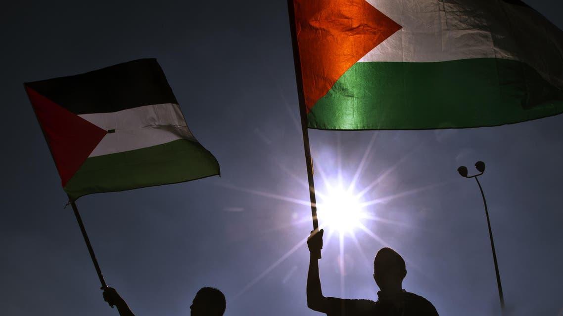 palestine flag afp