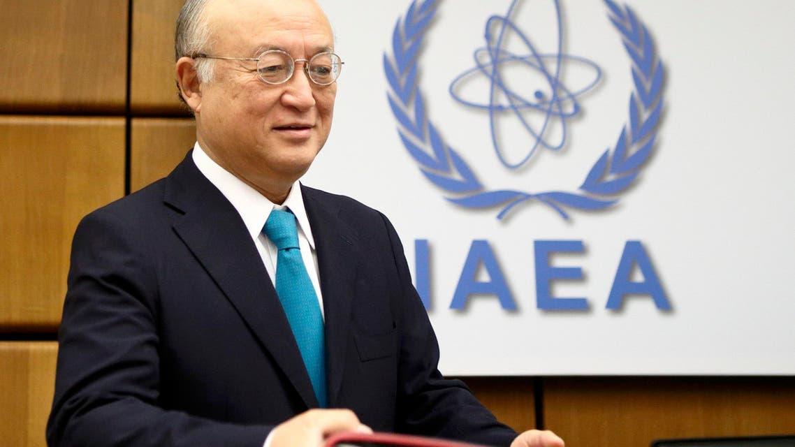 مدير عام الوكالة الدولية للطاقة الذرية يوكيا أمانو