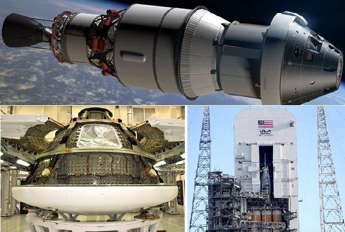 كبسولة أوريون كلفت 500 مليون دولار وهي من سيحمل أول من مجموعة من الرواد الى المريخ