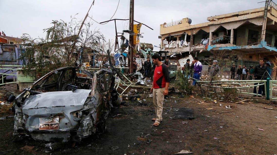 Baghdad bomb reuters