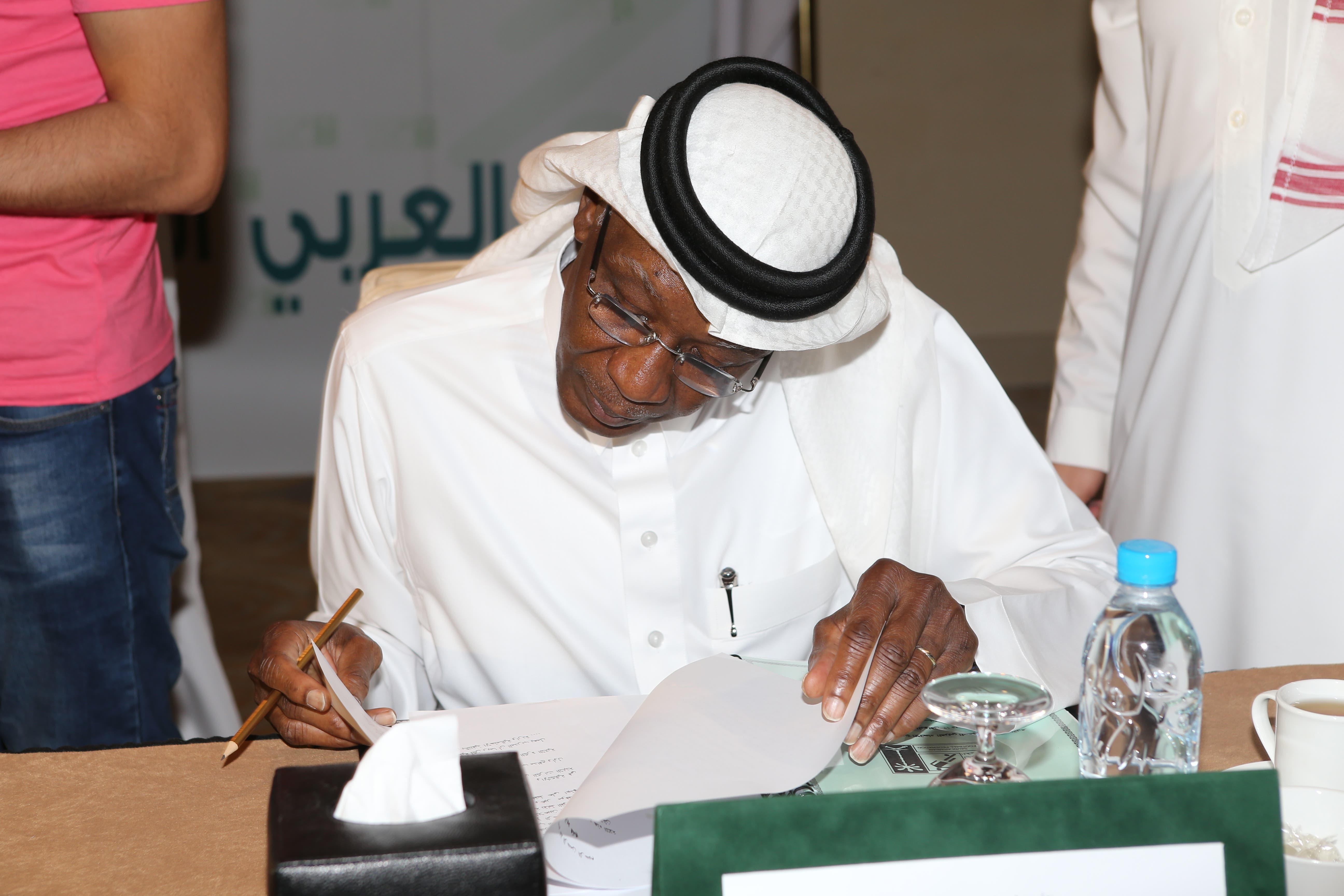رئيس الاتحاد السعودي عيد خلال اجتماع طارئ عقد بمدينة جدة يوم الجمعة