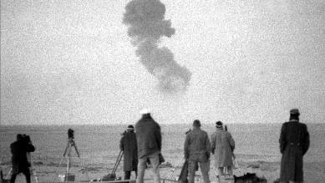 تجارب نووية اجرتها فرنسا في الجزائر