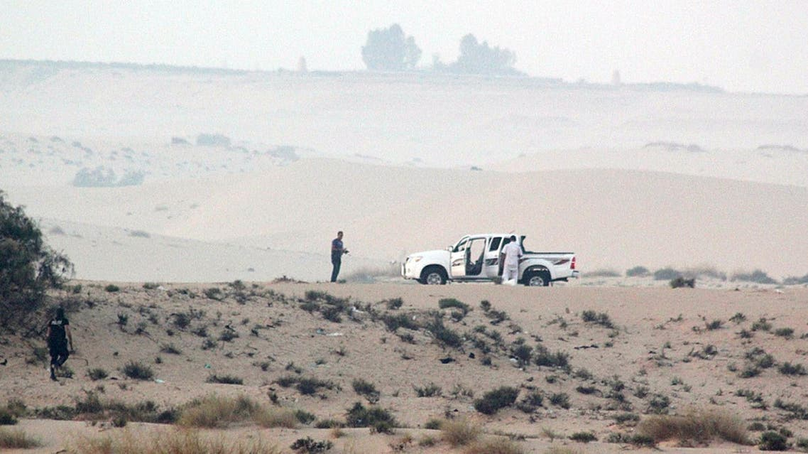 They were charged with killing 25 policemen last year in an attack near the border with Israel. (File photo: AFP)