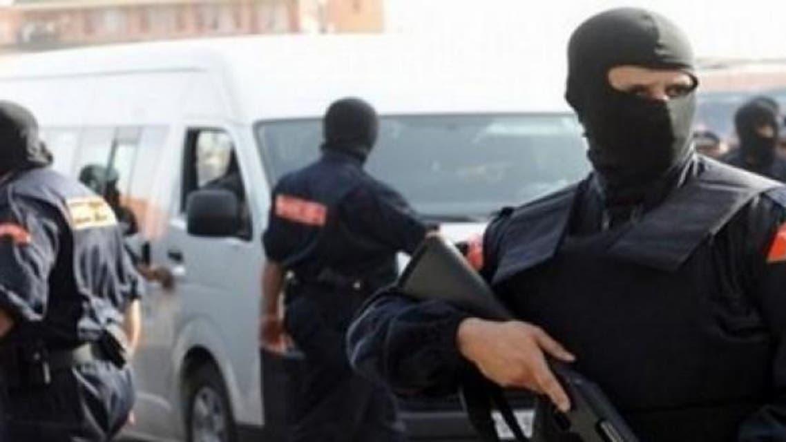 عناصر من شرطة مكافحة الارهاب في المغرب