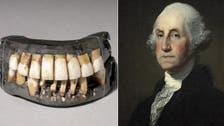 أسنان بقر وحمير كانت في فم أول وأشهر رئيس أميركي