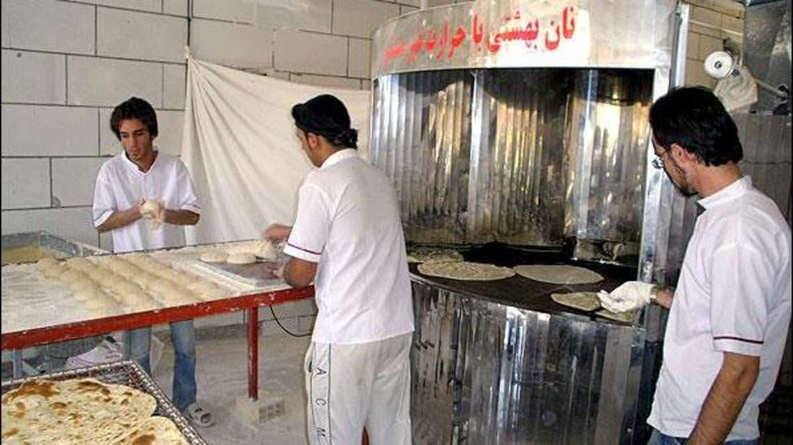 ايران إيران iran bread خبز