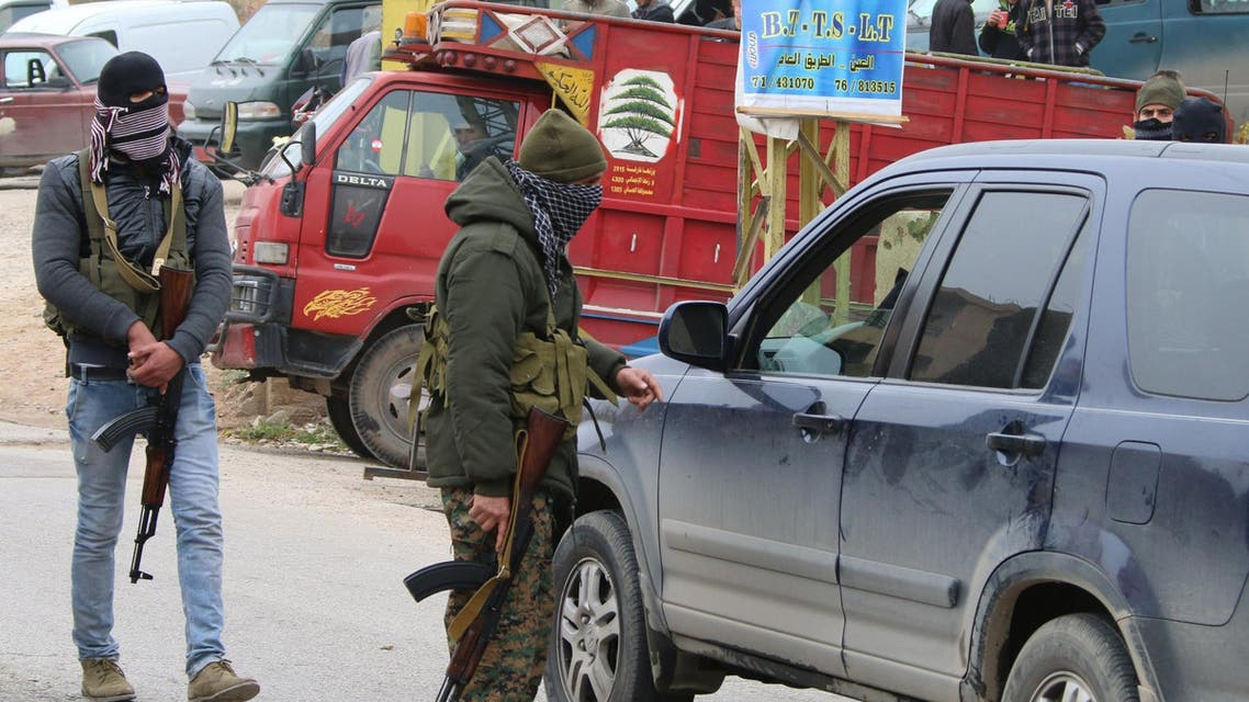 Lebanon Shiite fighters AFP