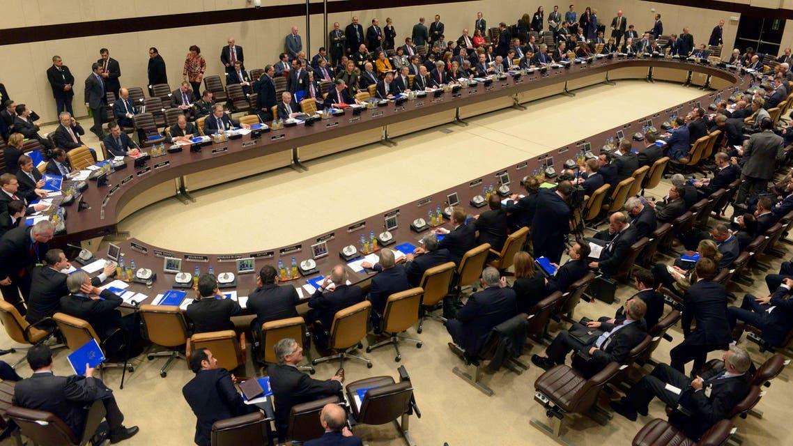 اجتماع التحالف ضد داعش