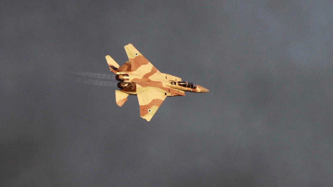 Israeli jet Reuters