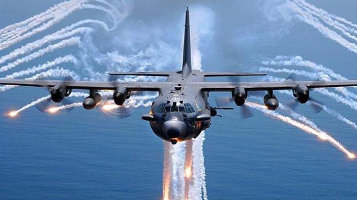 غارة جوية لإحدى طائرات التحالف