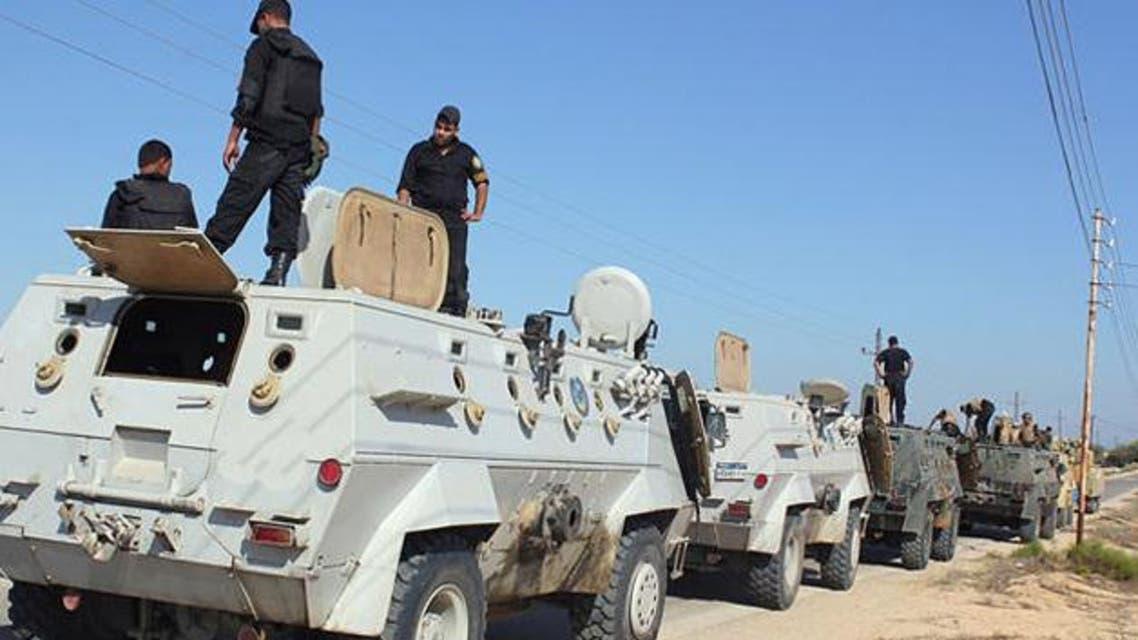 الشرطة المصرية في العريش