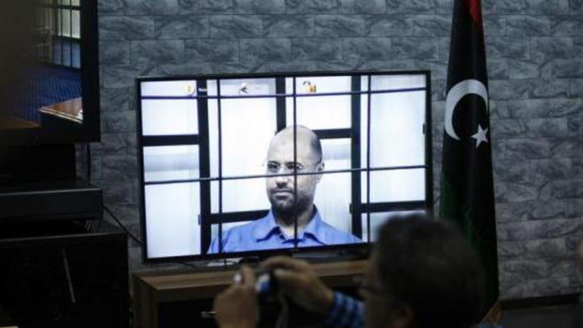 seif al islam qaddafi REUTERS Libya