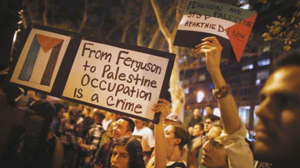 The events of Ferguson play a familiar tune especially for those of Palestinian descent. (Al Arabiya)
